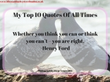 My Top 10 Quotes Of All Times (9)