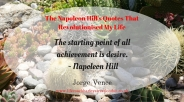 The Napoleon Hill's Quotes That Revolutionised My Life (1)