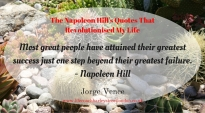 The Napoleon Hill's Quotes That Revolutionised My Life (10)