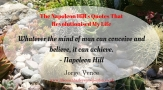 The Napoleon Hill's Quotes That Revolutionised My Life (12)
