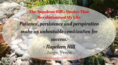 The Napoleon Hill's Quotes That Revolutionised My Life (5)
